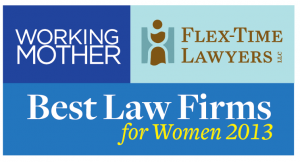 2013 Working Mother Flex Time Lawyers Logo