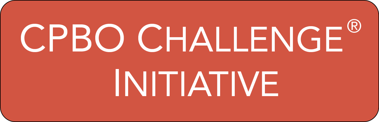 CPBO Challenge initiative banner