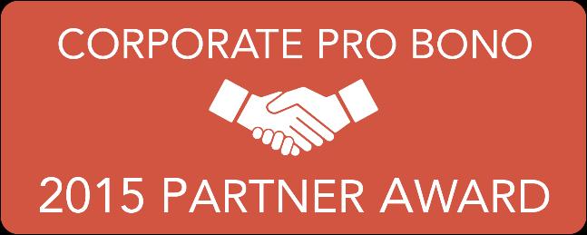 2015 Partner Award Banner