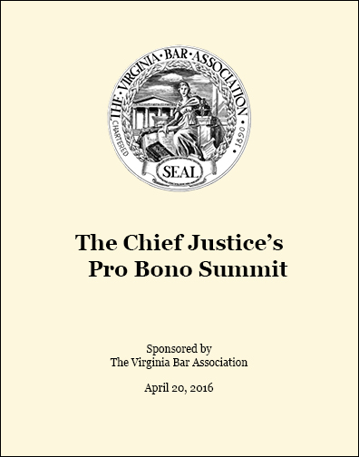 Chief Justice Summit (VBA) program