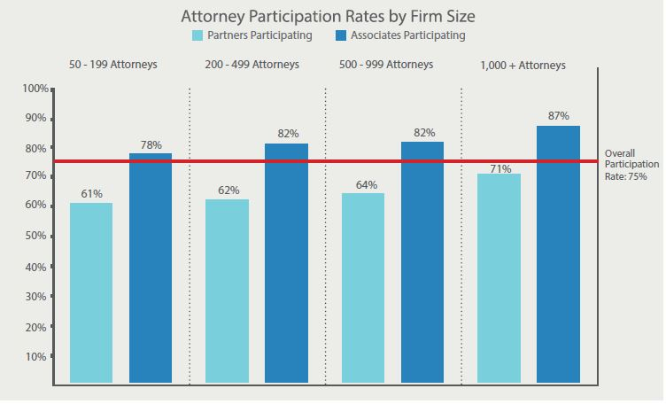 particpation rates by firm size
